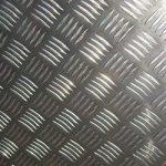 aluminium chequer